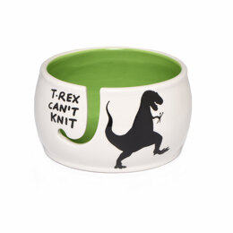 Lenny Mud T-Rex Yarn Bowl