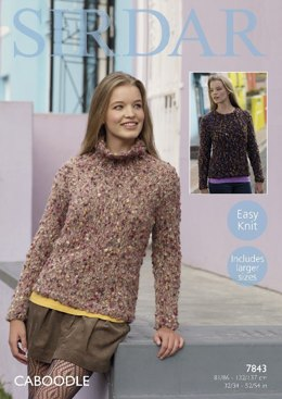 Sweaters  in Sirdar Caboodle - 7843