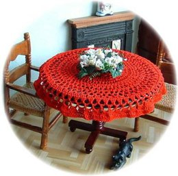 1:12th scale tablecloth