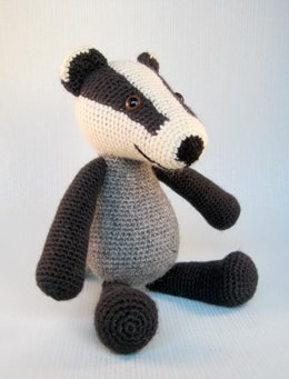 Blackberry the Badger Amigurumi