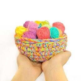 Odds and Ends Yarn Basket
