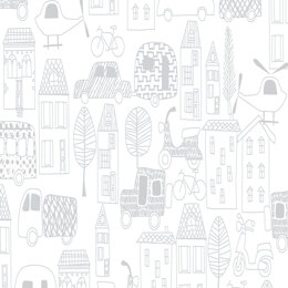 Craft Cotton Company Mov N Long - Outlines