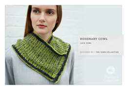 Rosemary Cowl in The Yarn Collective Portland Lace - Downloadable PDF