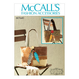McCall's Tote Bags M7640 - Sewing Pattern