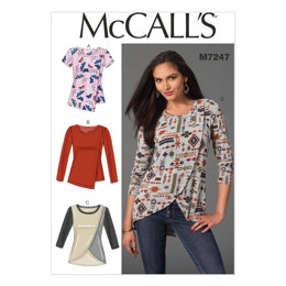 McCall's Misses' Tops M7247 - Sewing Pattern