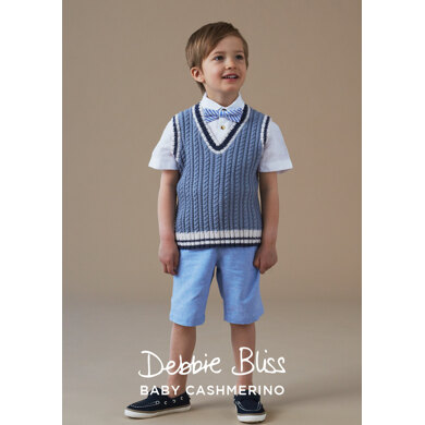 Chester Tank Top in Debbie Bliss Baby Cashmerino - DB227 - Downloadable PDF