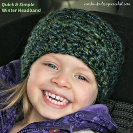 Let it Snow! Simple & Quick Winter Headband