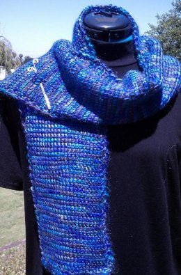 Knitter's Lesson in Tunisian Crochet: Scarf