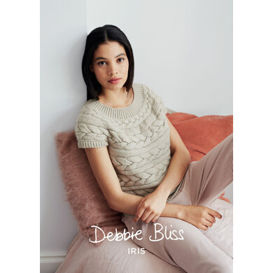 Ren Top in Debbie Bliss Iris - Downloadable PDF