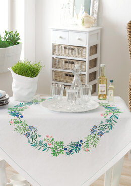 Anchor Aromatic Plants - Tablecloth - 0060044-00901_08 -  Downloadable PDF