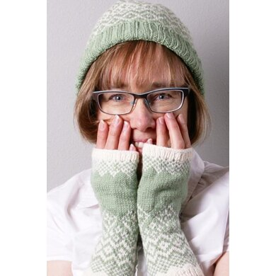 Carry On Fingerless Mitts