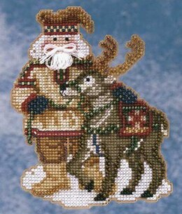 Mill Hill Lapland Santa Cross Stitch Kit