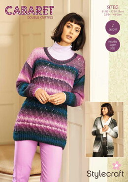 Cardigan and Jumper in Stylecraft Cabaret - 9783 - Downloadable PDF