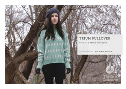 Trium Pullover by Sachiko Burgin in The Yarn Collective - Downloadable PDF
