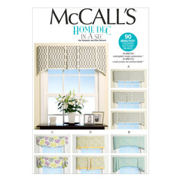 McCall's Window Treatments M7033 - Paper Pattern Size All Sizes In One Envelope