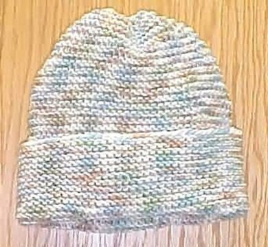 8054f685d3a Beginner Easy Knit Hat Knitting pattern by Frugal Knitting Haus