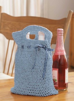 Reusable Gift Bag in Lily Sugar 'n Cream Solids