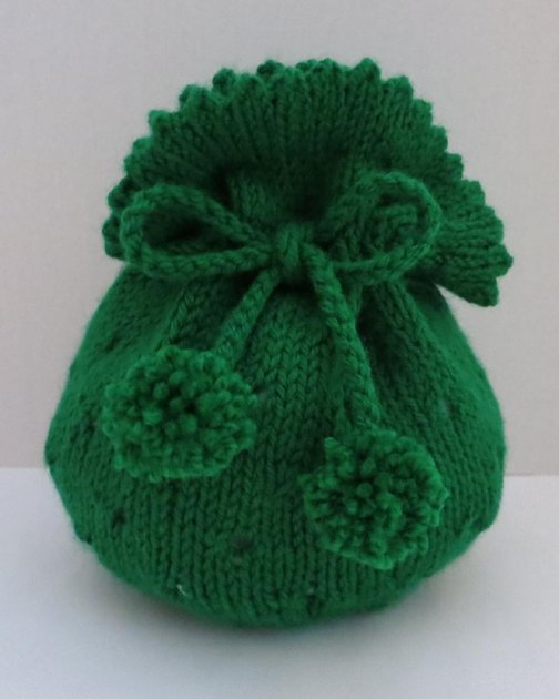 Bag Knitting Patterns In The Round : Gift Bag, Tote Bag, Seamless Knitted in the Round Knitting pattern by Grace S...