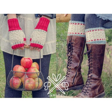Cable & Stitch Boot Liners & Mitts
