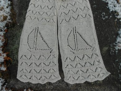 Sailing Seaman S Scarf Knitting Pattern By Melody Hadley Knitting
