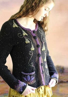 Ginkgo and Lotus Little Fitted Jacket