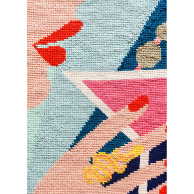 We Are Knitters Petit Point AM To PM Cross Stitch Kit