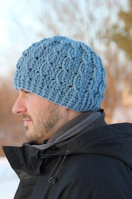 Cable Cross Beanie - 2 Versions