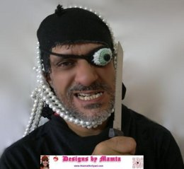 Crochet Pirate Eye Patch Pattern For Adults And Kids