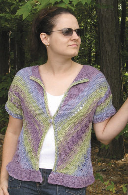 Slant On Nature in Knit One Crochet Too Ty-Dy - 1514