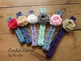 Pretty Flower Headbands