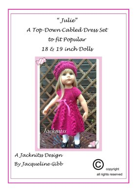 16 Top Down Cabled Dress