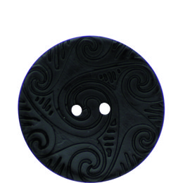 Etched Coconut 41mm 2-Hole Button
