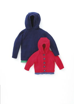 Sweater & Jacket In Hayfield Baby Chunky - 4452
