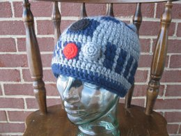 R2D2 beanie pattern, Star Wars