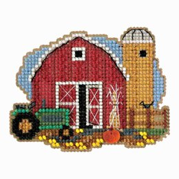 Mill Hill Harvest Barn Ornament Cross Stitch Kit - Multi