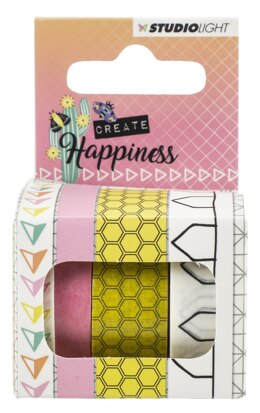 Studio Light Create Happiness Washi Tape 4/Pkg - NR. 02