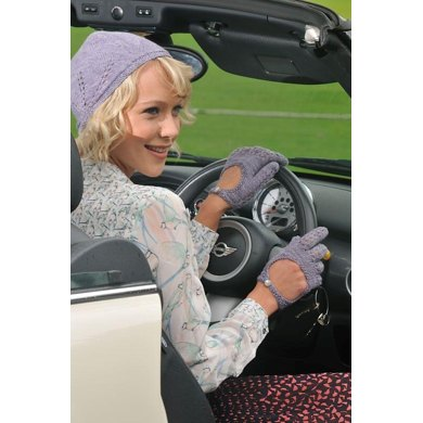 Driving hat and gloves
