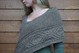 Walnut Bark Shawl