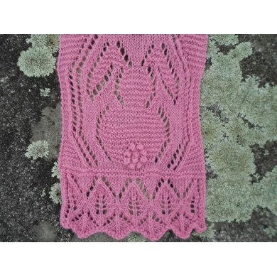Bunnies on Parade Lace Scarf