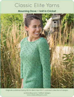 Mourning Dove Pullover in Classic Elite Yarns Cricket