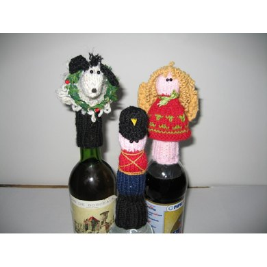 Mary Christmas! Too, Bottle Toppers