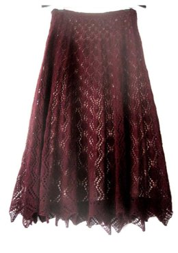 Ruby Lace Skirt