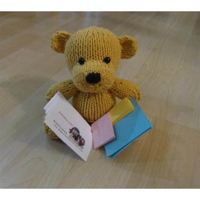 Knitkinz Bear for Your Office