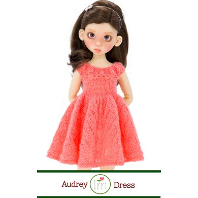 Audrey Dress For 17 Inch Bjd Dolls By Kaye Wiggs Doll Clothes