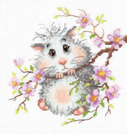 Magic Needle Mr Hamster Cross Stitch Kit