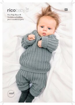 Baby's Jumper and Leggins in Rico Baby Classic DK - 1028 - Downloadable PDF