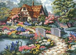 Dimensions Cottage Retreat Tapestry Kit - 41 x 30 cm