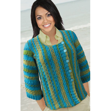 Fish Scales in Knit One Crochet Too Ty-Dy Wool - 1708