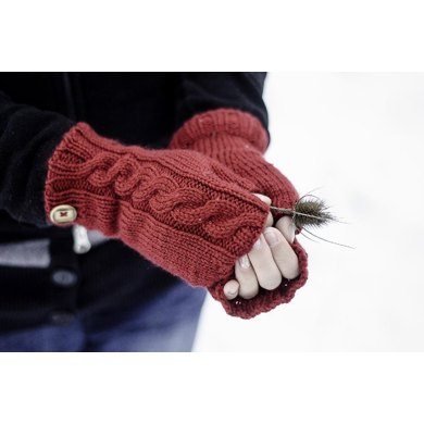 Through the Woods Fingerless Mitts