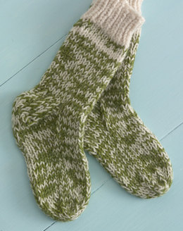 Starboard Socks in Lion Brand Wool-Ease - 90503AD
